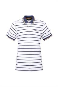 Tenson Gian Men Polo heren polo wit dessin