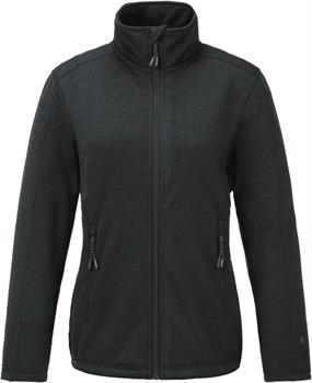 Tenson Lacy W Fleece Dames softshell ZWART