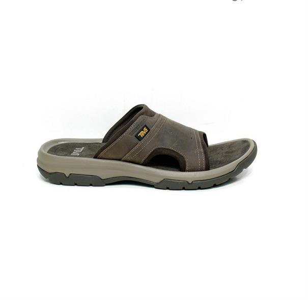 Teva Langdon Slide heren slippers donkerbruin
