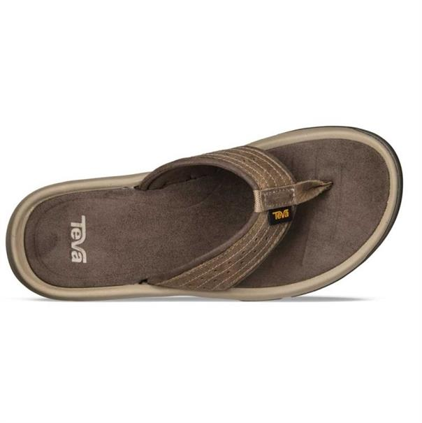 Teva Langdon Teen Slipper badslippers donkerbruin