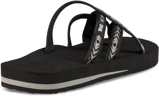 Teva Olowahu dames slippers zwart dessin