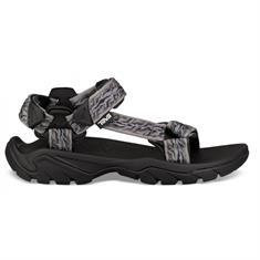Teva Terra fi 5 heren sandalen zwart dessin