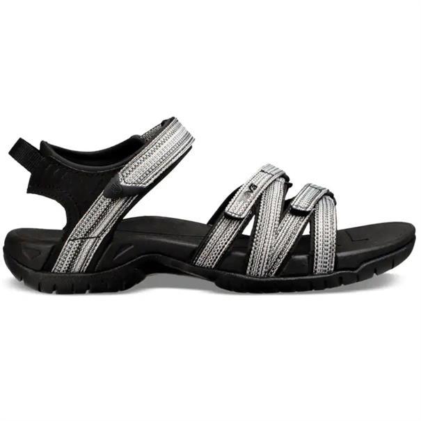 Teva Tirra dames sandalen zwart dessin