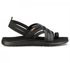 Teva Voya Strap dames sandalen zwart