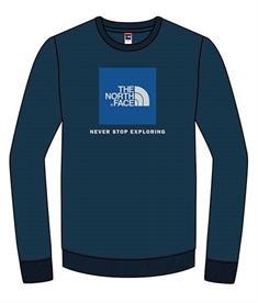 The North Face Box Crew jongens casual sweater marine