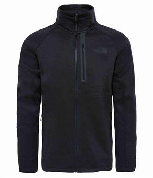 The North Face Canyonlands Heren softshell ZWART