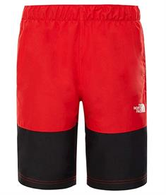 The North Face Class V Short jongens zwembroek rood
