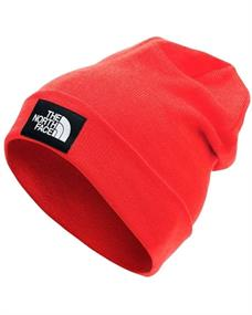 The North Face Dockworker Recycled Beanie muts sr rood