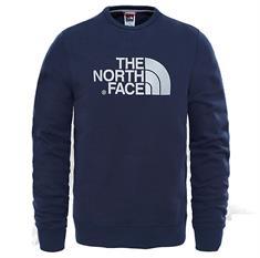 The North Face Drew Peak Crew heren casual sweater marine