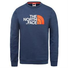The North Face Drew Peak Crew heren casual sweater marine