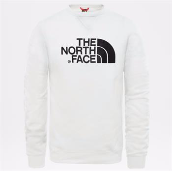 The North Face Drew Peak Crew Heren casual sweater WIT