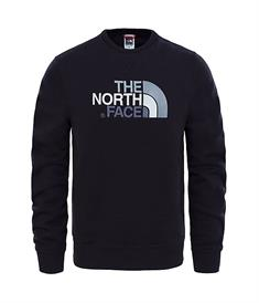 The North Face Drew peak crew heren casual sweater zwart