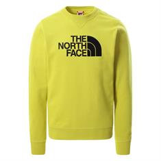 The North Face DREW PEAK CREW LT heren casual sweater geel