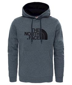 The North Face Drew Peak Hood heren casual sweater antraciet