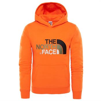 The North Face Drew Peak Jongens casual sweater ROOD