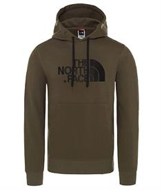 The North Face Drew Peak Po Hood heren casual sweater donkergroen