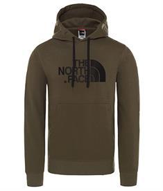 The North Face Drew peak po hood heren casual sweater donkergroen