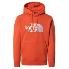 The North Face Drew Peak Pullover heren casual sweater oranje