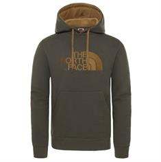 The North Face Drew Peak Pullover Hoodie heren casual sweater middenbruin