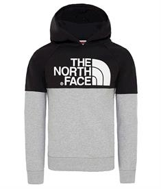 The North Face Drew Peak Raglan jongens casual sweater zwart