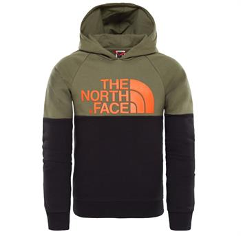 The North Face Drew PK Jongens casual sweater donkergroen