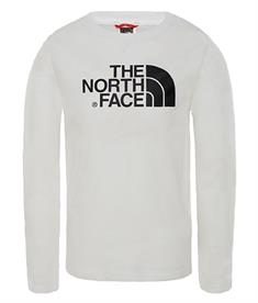 The North Face Easy longsleeve tee jongens casual sweater wit