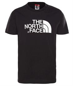 The North Face Easy tee jongens shirt zwart
