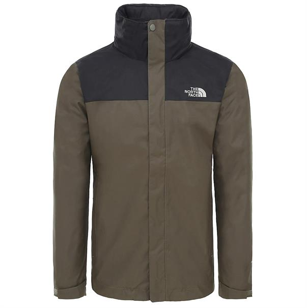 The North Face Evolve II Triclimate heren ski jas middenbruin