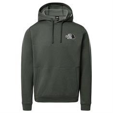 The North Face Explorer Fleece heren casual sweater donkergroen