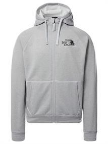 The North Face Explorer Fleece heren casual sweater grijs