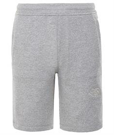 The North Face Fleece Short jongens sportshort midden grijs