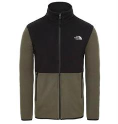 The North Face Glacier Jacket heren fleece groen