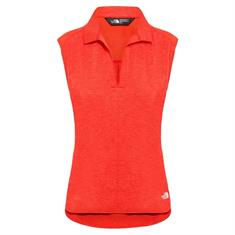 The North Face Inlux S/L Top dames polo rood