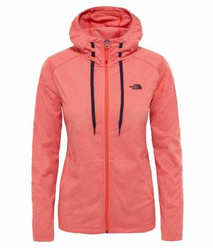 The North Face Mezzaluna Tech Dames softshell Koraal