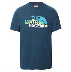 The North Face Mount Line Tee heren shirt marine
