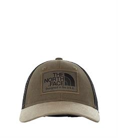 The North Face Mudder trucker youth caps donkergroen
