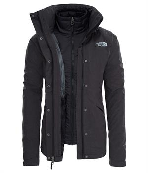 The North Face Naslund Tri Jkt Dames winterjas antraciet
