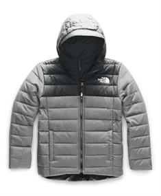 The North Face Perrito Jacket Boy's jongens ski/snowboard jas antraciet
