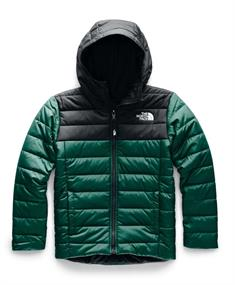 The North Face Perrito Jacket Boy's jongens ski/snowboard jas donkergroen