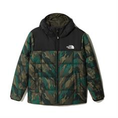 The North Face Perrito Jacket Boys jongens ski/snowboard jas donkergroen