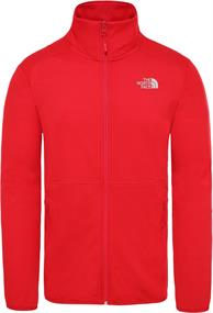 The North Face Quest Fleece Jacket heren fleece rood