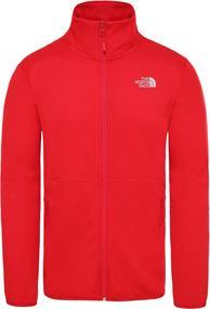 The North Face Quest Fleece Jacket heren fleece rood