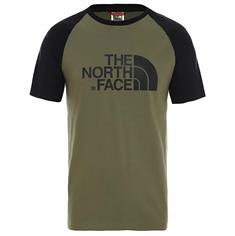 The North Face Raglan Easy Tee heren shirt groen