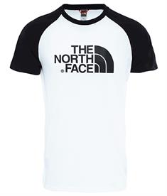 The North Face Raglan Easy Tee heren shirt wit