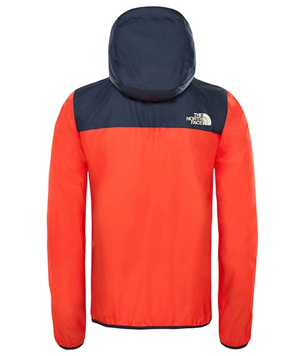 The North Face Reactor Wind Jacket junior zomerjas rood