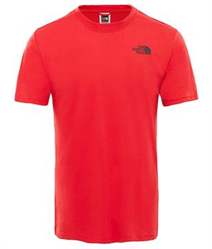 The North Face Red Box Tee Heren shirt ROOD