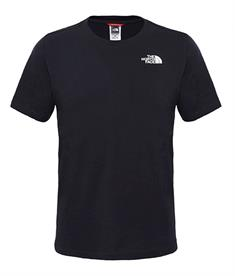 The North Face Red box tee heren shirt zwart