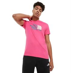 The North Face Rust 2 Tee heren shirt pink
