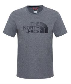 The North Face S/s easy tee heren shirt antraciet