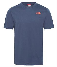 The North Face S/s easy tee heren shirt marine